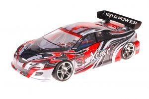 HSP 1zu10 Brushless XSTR PRO RC Auto Xeme Red Carbon